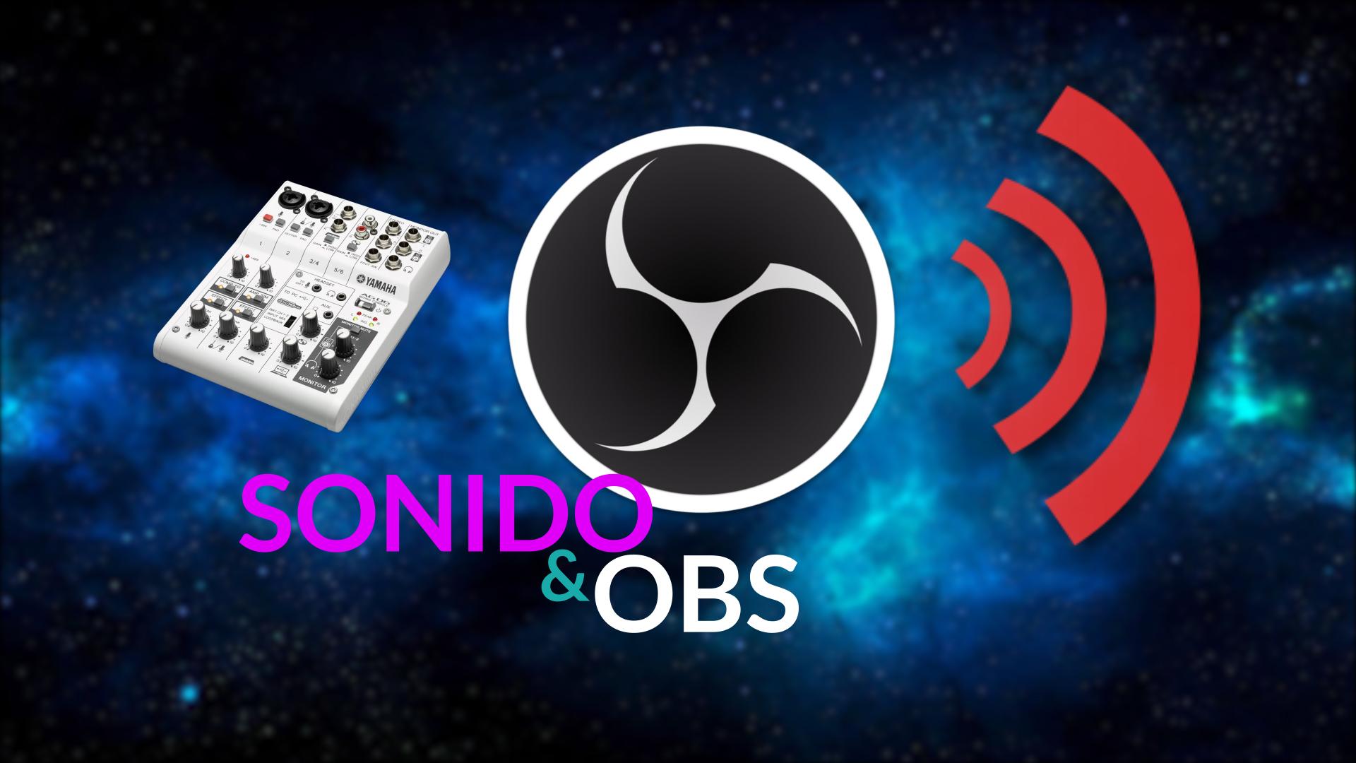 Controlar y monitorizar audio en OBS